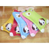 儿童枕头卡通  婴儿枕头 荞麦壳枕头 纯棉 宝宝定型枕头 中号