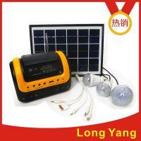 龙阳新品太阳能小系统家用发电机带收音机MP3太阳能手电筒移动电源