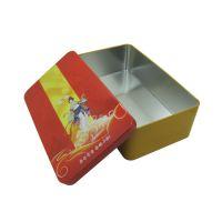 食品包装铁盒厂家化妆品套装铁盒订做 密封休闲零食铁盒制造