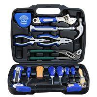 力成工具 24件家用管道维修工具套装 工具箱组合 组套工具 包邮