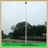 齐宁户外篮球场灯杆灯柱 篮球场灯杆厂家 高品质投光灯设备
