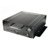 公交客运车视频远程网络监控3G 4G车载四路硬盘数字录像机