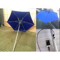 Solar Energy Product Sun Umbrella with Solar Panels Charger for iPhone etc. Bar Umbrella 02c-00