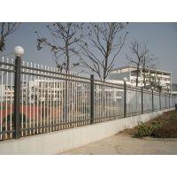 厂家定做方管围墙栅栏@方管活动护栏@小区安全防护栏杆