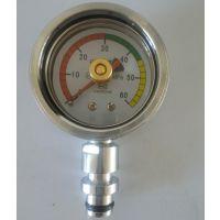 乔木电气矿用表/矿用配件批发/矿用仪表综采支架压力表快插式