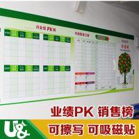 深圳白板贴可卷易擦优力优磁性白板厂家环保办公必备磁性文化墙