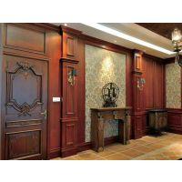 酒店家具护墙板固装木饰面