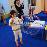 童乐风海绵室内儿童泡泡乐园设备魔术泡泡主题乐园表演