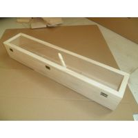 力超工艺加工定做 永生花木盒 长方形永生花盒定制 整束花包装盒