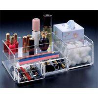 透明有机玻璃多功能收纳盒  亚克力化妆品护肤品陈列盒  杂物盒