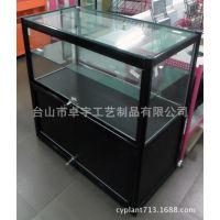 G131007 100×100×50玻璃木柜