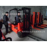 供应-四轮车载式电动堆高车 车胎式蓄电瓶叉车 座驾式电动叉车