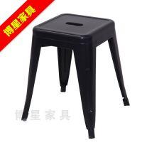 酒吧前台椅 铁皮餐椅  户外椅 复古凳子 18寸 椅子批发