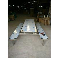 深圳市龙华新区不锈钢食堂餐桌椅让产厂家