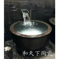 供应陶瓷大澡缸 清花瓷器温泉浴场会所浴缸 日本极乐汤澡缸