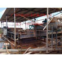 绿达牌带式压滤机污泥处理设备、广东湛江洗沙场洗砂泥浆脱水机