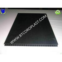 大量销售黑色3mm4mm5mm6mm中空板,黑色塑胶中空板 深圳 东莞 塘厦