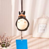 挂件挂饰 中号龙猫卡通陶瓷风铃  动物陶瓷工艺品 卡通萌物A39