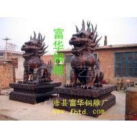 供应铜雕麒麟。铜雕厂。铜雕动物,铜雕工艺品,铜雕