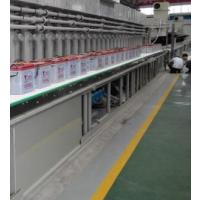 供应电池行业专用网带输送机,蓄电池网带输送线