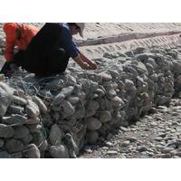 湖泊固岸防盗土铅丝笼挡墙防腐蚀镀锌覆塑石笼网铅丝石笼安平