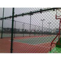 河北田径场围网球场护栏网学校网球场围网铁丝10-20