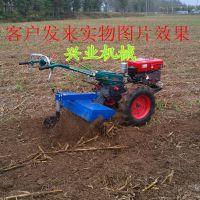 12马力手扶拖拉机 硬质土地开沟机 大马力除草旋耕机视频