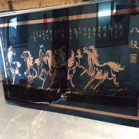 深圳宏而达不锈钢壁画喷绘 现代简约装饰画 茶楼茶室墙面挂画