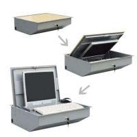 可定制17寸19寸22寸电脑翻转器手动翻转器桌面电脑手动翻转器液晶显示屏翻转器