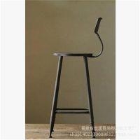 旭钦铁艺咖啡桌椅可升降茶几做旧圆桌复古实木茶几