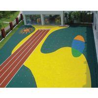 供应余姚市塑胶跑道硅pu球场幼儿园塑胶场地