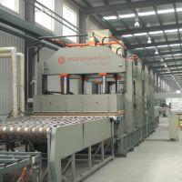 国森机械研制新型复合材料连续式进料蜂窝板层压机设备