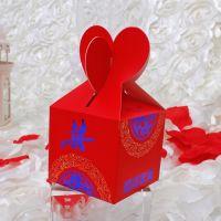 高档创意 欧式结婚婚礼纸盒喜糖盒 糖果包装盒 婚庆喜庆用品批发
