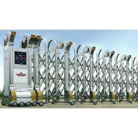 北京伸缩门安装 无轨机器人伸缩门安装价格