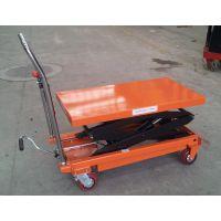 电动液压平台 钢制电动平台车 厂家定制销售