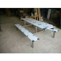 深圳工程项目订制不锈钢餐桌椅生产厂家