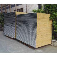 (厂家)岩棉板 彩钢板 隔墙板 防火隔热彩钢板 净化工程板材