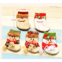 泰柯装饰挂件迷你圣诞袜子圣诞节礼品糖果袋礼物袋