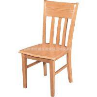 实木餐椅家具酒店餐桌椅实木椅子简易休闲椅子