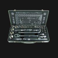 日本独资福冈釼32件套套筒组套机修工具进口品质套筒组套FO-9001