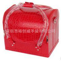 厂家直销2012款化妆箱 化妆包 手拿包 晚宴化妆包