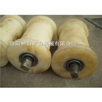 护绳尼龙地辊 矿业输送设备耐腐蚀胶板