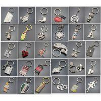 北京金属钥匙扣 镀金钥匙链批发 生产钥匙挂件设计