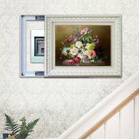 DCL3551 静物花卉  厂家直销  推拉式电表箱装饰画 欧式框