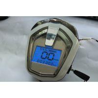 简易款电动车仪表灯头电瓶车电压表速度里程表电量表
