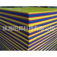 批发供应 纽昇NC001 10倍XPE海绵 蓝&黄&红通用体操垫、运动垫子 30*800*800mm