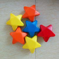 直销橡塑发泡玩具公仔 兴宏发定制多尺寸玩具礼品 75*35MM星星减压球