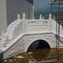 花岗岩河道栏杆 石雕桥栏杆 石材防护栏