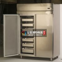 佳伯厨房风冷速冻柜,双门插盘柜,烘焙烤盘冷冻柜,面团冷冻箱
