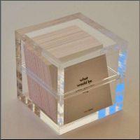 亚克力工艺品来图加工有机玻璃名片盒有机玻璃浴室用品架